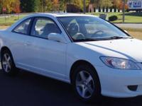This Honda Civic is clean and is available for purchase