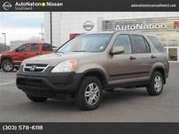 This 2004 Honda CR-V EX is offered to you for sale by