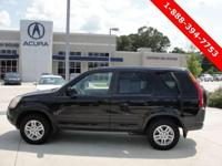 Options Included: CR-V EX, 4-Speed Automatic With
