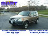 This 2004 Honda CR-V EX 4WD is offered to you for sale