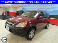CR-V EX, 4-Speed Automatic with Overdrive, AWD, and