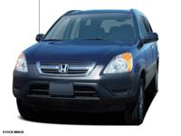 Recent Arrival! 2004 Honda CR-V EX CARFAX One-Owner.