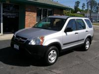 Options Included: N/A2004 Honda CRV-LX