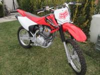 2004 Honda CRF 150 dirtbike in good condition.