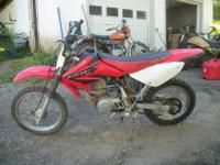 2004 Honda CRF 80 F 4 stroke with fmf pipe $900 just