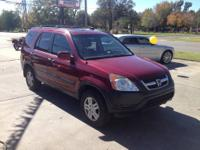 2004 Honda CR-V EX 4WD AT Vehicle Options 4x4 Keyless