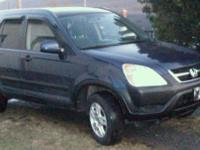2004 honda crv,all wheel drive,,great in snow,, has a