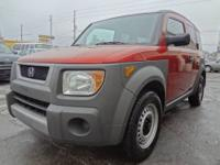 SUPER CLEAN IN AND OUT 2004 HONDA ELEMENT 2.4L V-TECH