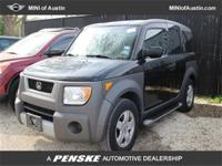 This 2004 Honda ELEMENT 4dr EX AWD SUV features a 2.4L