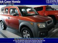 Options:  2004 Honda Element Ex|/|V4 2.4L Automatic|0