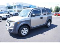 2004 Honda Element EX 4-Cyl, VTEC, 2.4 Liter,