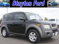 This is a own owner 2004 Honda Element EX AWD with