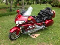 2004 Honda GL1800 Goldwing. 2004 Honda Gl1800 Gold Wing
