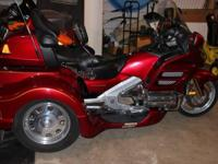 2004 Honda GL1800 Goldwing Trike. 2004 Honda Goldwing