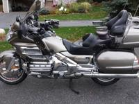 2004 Goldwing 1800 in great condition with 90,000