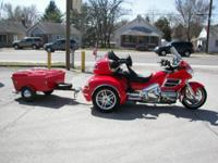 2004 Honda Goldwing Trike and Cyclemate Trailer 32,567
