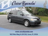 Clean Carfax - 1 Owner and Clean Carfax. Odyssey EX-L,