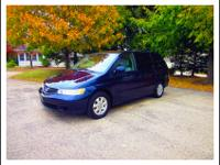 2004 Honda Odyssey. Has a little over 74,000 miles.