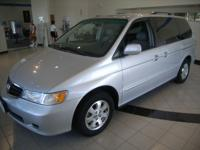 Options Included: N/AThis Odyssey was locally owned,