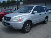 Options Included: N/A2004 Honda Pilot EX,silver/gray