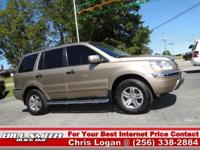Options Included: This is one Sharp Honda Pilot !! It