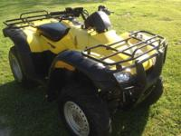 2004 HONDA HERDSMAN ES 4X4 350 YELLOW 4-WHEELER/ATV.