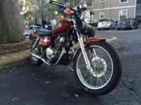 For sale is my 2004 Honda Rebel 250 with less than 2500