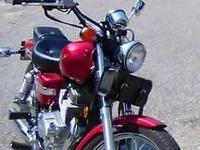 Red metallic (D11) Honda Rebel 250, best for learner