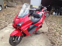 I have a 2004 Honda Reflex with 10350 miles. Adult