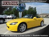 JD Power gave this 2004 S2000 a Power Circle Rating of