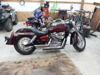 2004 Honda Shadow Aero 750.. I'm selling it because I