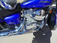 FOR SALE - 2004 Honda Shadow Aero blue/purple depending