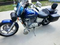 2004 Honda Shadow Spirit VT1100 Cruiser. Only 6304