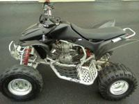 2004 Honda trx450r ATV, new tires on back, good front