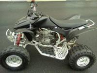 2004 Honda trx450r ATV, new tires on back, good front