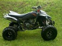 04 Honda TRX450r lots of extras AC nerf bars, Houser
