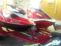 "We are selling our ""04 Honda AquaTrex Turbo Jet ski and"