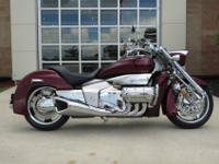 This is a beautiful 2004 Honda Valkyrie Rune Chrome NRX