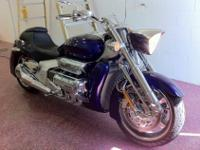 2004 Honda Valkyrie RUNE model NRX1800 Illusion BLUE