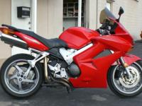 Here is a great sport bike that is mixed with a little