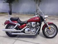 I presently have a 2004 Honda Vtx 1300 Custom for