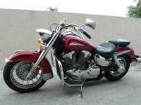 This is a beautiful 2004 Honda VTX 1300S. This bike is