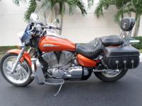 This is an excellent looking 2004 Honda VTX 1300C. This