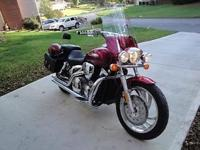 2004 Honda VTX1300C Cruiser, over $3,500.00 in