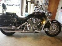 This 2004 VTX 1800 Honda is in excellent condition and