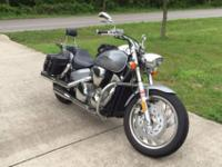 This is a VERY clean 2004 Honda VTX 1300c. Included are
