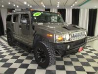 OVERVIEW This 2004 HUMMER H2 4dr 4dr Wagon features a