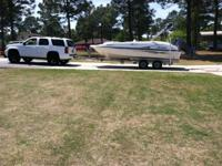 2004 hurricane deck boat 200hp four stroke boat and