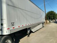 2004 Hyundai 53 foot drive ins, aluminum roof, wood