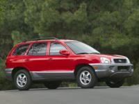 CARFAX One-Owner. 2004 Hyundai Santa Fe in Pewter/Cool